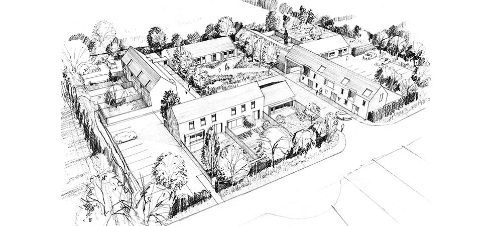 Village extension, Hampshire