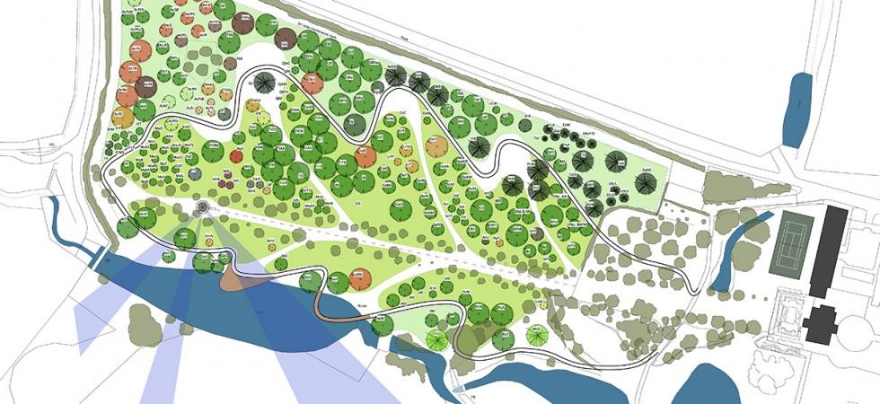 Scenic arboretum, Rutland