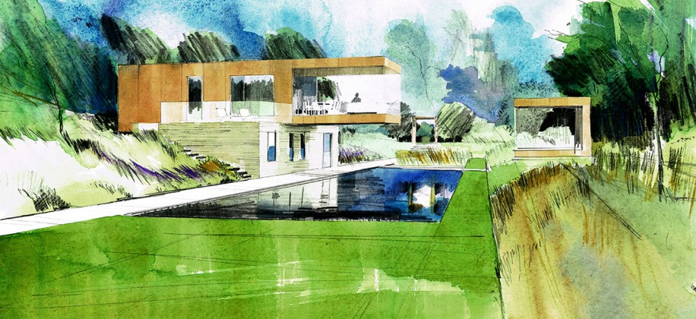 'Paragraph 55' House, Ravenstone, Buckinghamshire