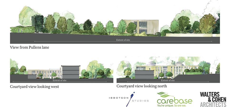 Care Home Oxford Landscape Design Studio
