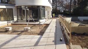 Cherry Hill construction under way