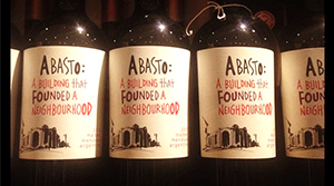 Abasto Wine label