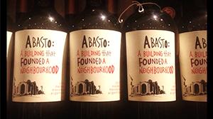 Abasto Wine label