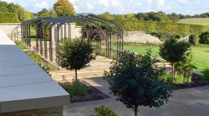 Garden created for Cotswold farm