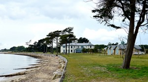 Gardens for house on the Solent