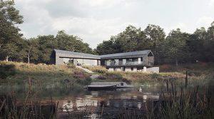 Riverside house permission